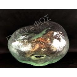 Φυσητό γυαλί βράχος