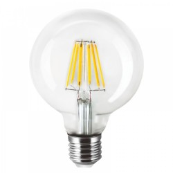 Λάμπα LED E27 Filament G80 8watt