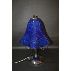 Πορτατίφ με μπλέ φυσητό γυαλί